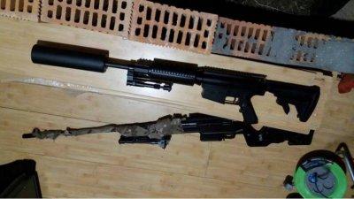 В Херсоне изъят арсенал боевого оружия