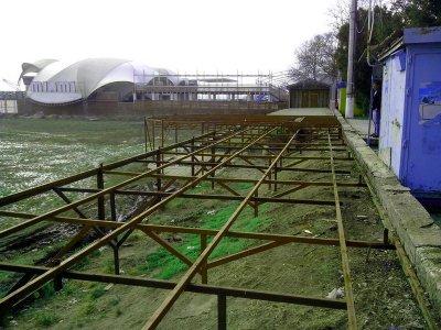 У Скадовську демонтовано 11 тимчасових споруд