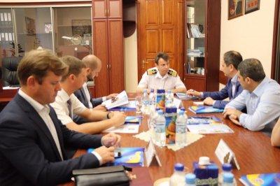 У Херсоні з візитом Міністр з питань ТОТ Вадим Черниш