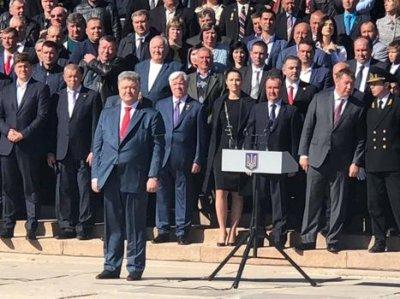 Курсанти морської академії прийняли урочисту присягу (ФОТО)