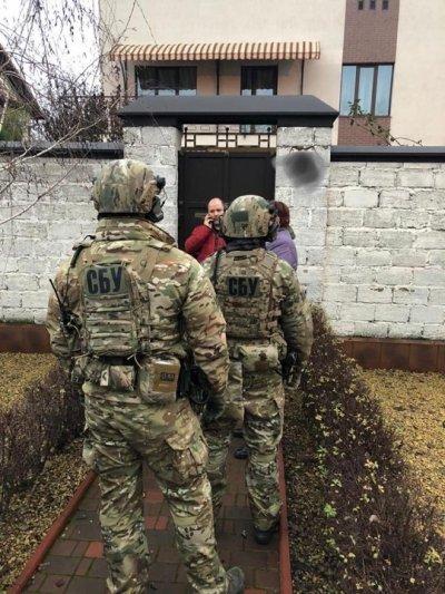 СБУ пришла с обысками в Черноморское межрегиональное управление Укртрансбезопасности